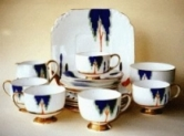 Birks Rawlins & Co. - Tea Set Pattern 4986